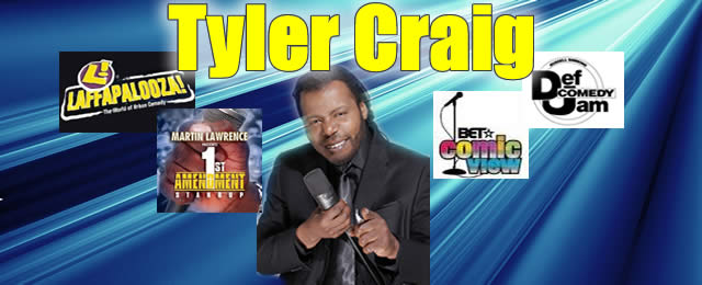 Tyler Craig @ the Comedy House Banner