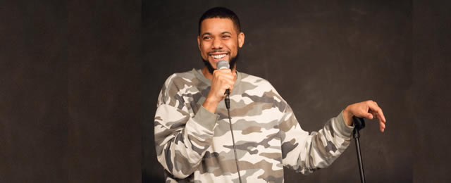 Clayton English at the Comedy House