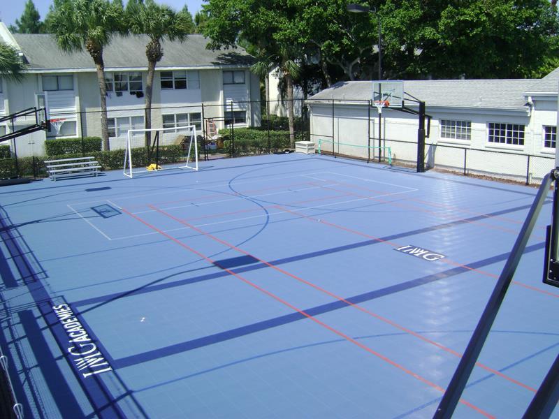 Build Multi Game Court