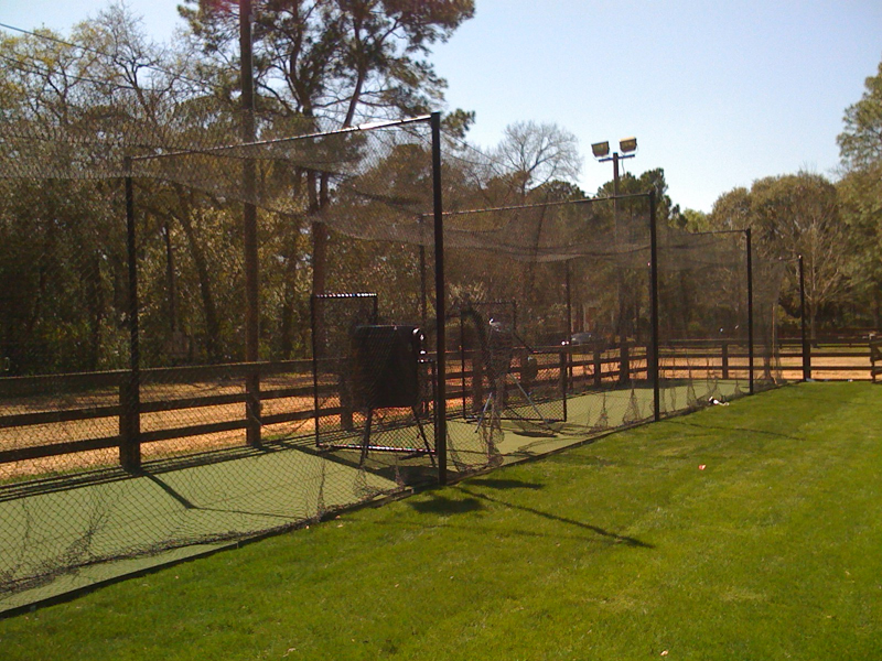 Outdoor Batting Cage