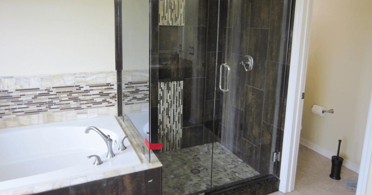 Custom Built shower door in fl
