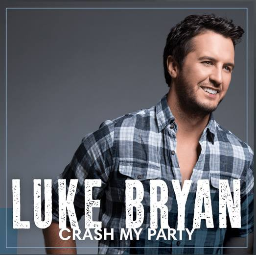 Luke Bryan Crash My Party Album Cover - CountryMusicRocks.net