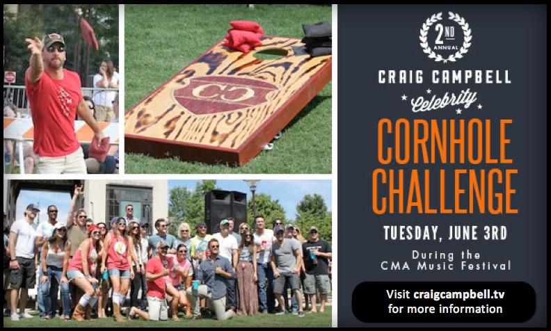 Craig Campbell 2nd Annual Cornhole Challenge - CountryMusicRocks.net