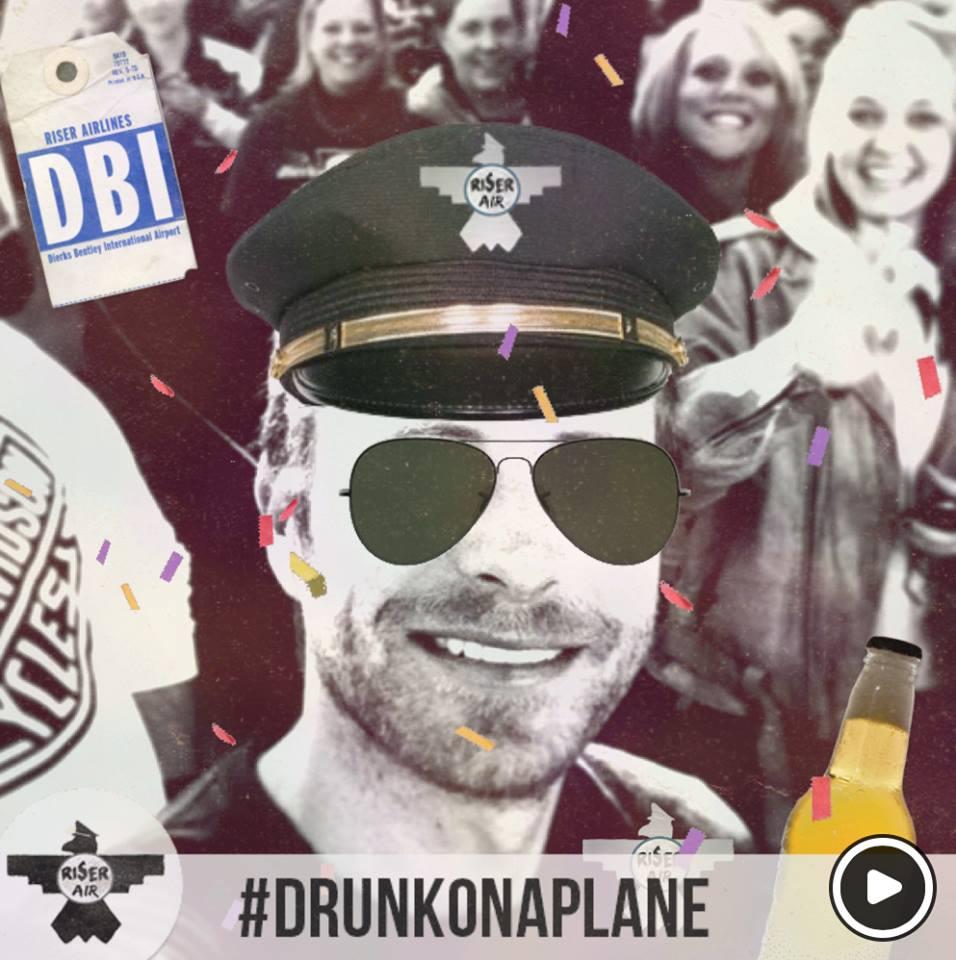 Dierks Bentley Drunk On  Plane  App - CountryMusicRocks.net