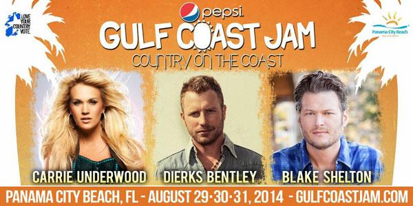 Pepsi Gulf Coast Jam - CountryMusicRocks.net
