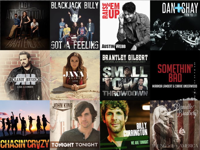 CMR June 2014 Playlist - CountryMusicRocks.net