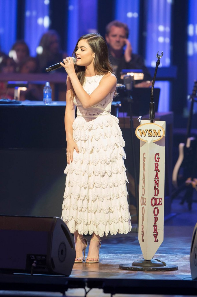 Lucy Hale Grand Ole Opry Debut Photo Credit Chris Hollo - CountryMusicRocks.net