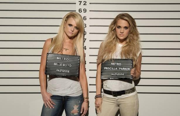 Miranda Lambert Carrie Underwood Somethin Bad Video - CountryMusicRocks.net