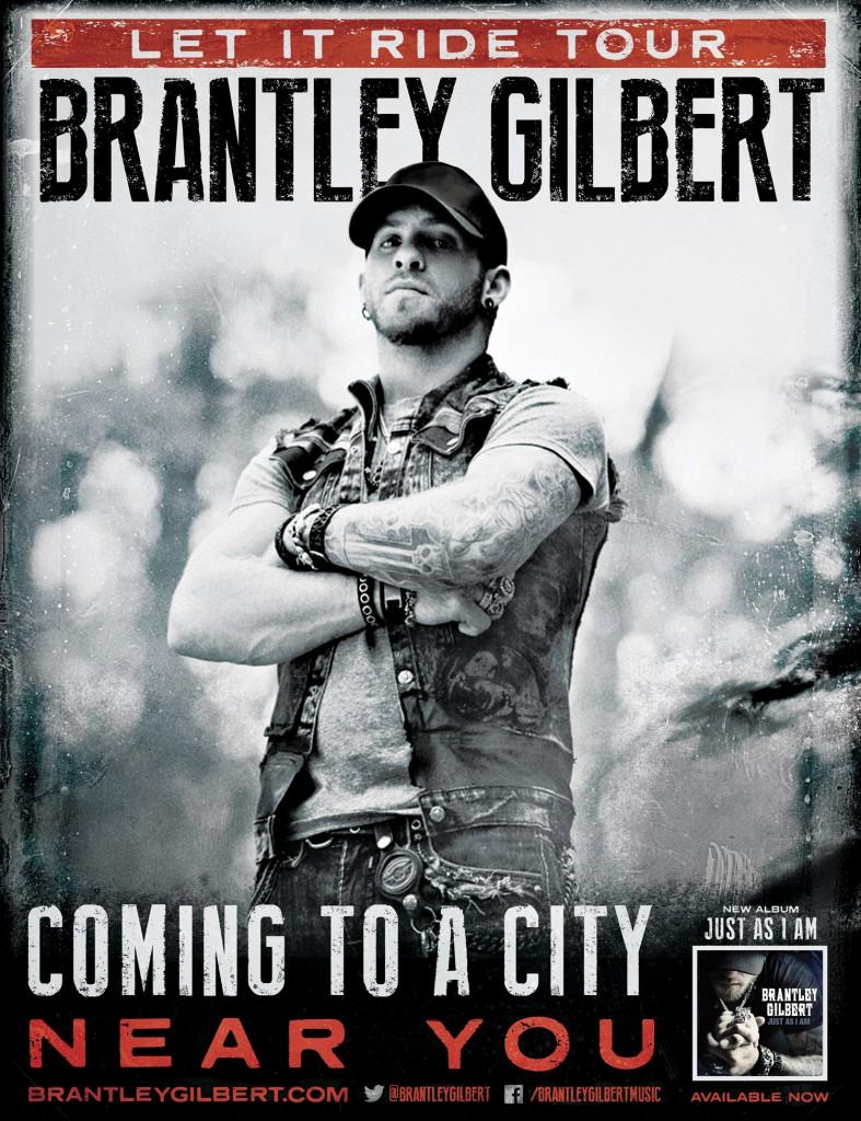 Brantley Gilbert Let It Ride Tour - CountryMusicRocks.net