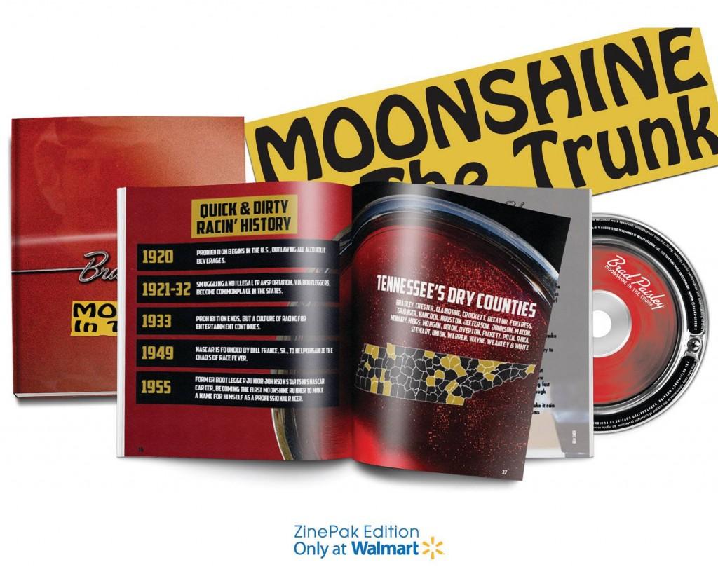 Brad Paisley Moonshine In The Trunk ZinePak - CountryMusicRocks.net