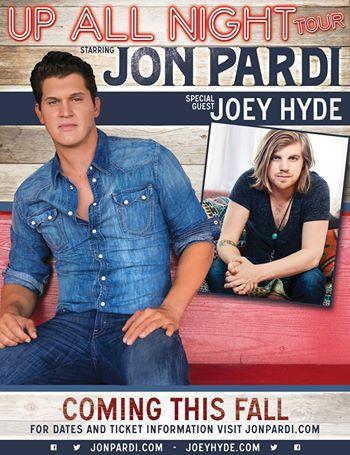 Jon Pardi Up All Night Tour - CountryMusicRocks.net