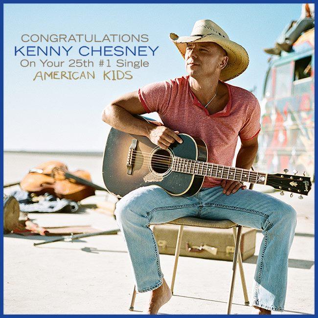 Kenny Chesney 25th No.1 - CountryMusicRocks.net