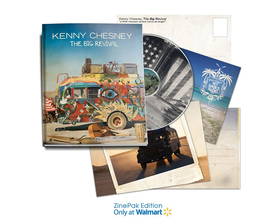 Kenny Chesney The Big Revival ZinePak - CountryMusicRocks.net