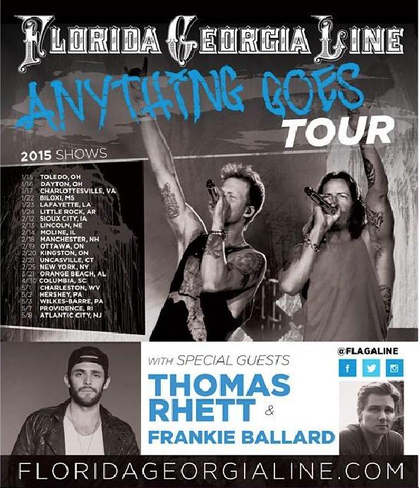 Florida Georgia Line Anything Goes Tour - CountryMusicRocks.net