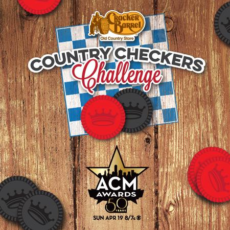 ACM Cracker Barrel Country Checkers Challenge - CountryMusicRocks.net