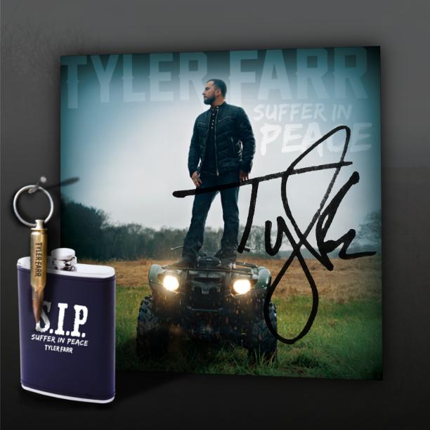 Tyler Farr Suffer In Peace PrizePack - CountryMusicRocks.net