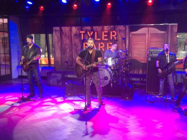 Tyler Farr Today Show - CountryMusicRocks.net