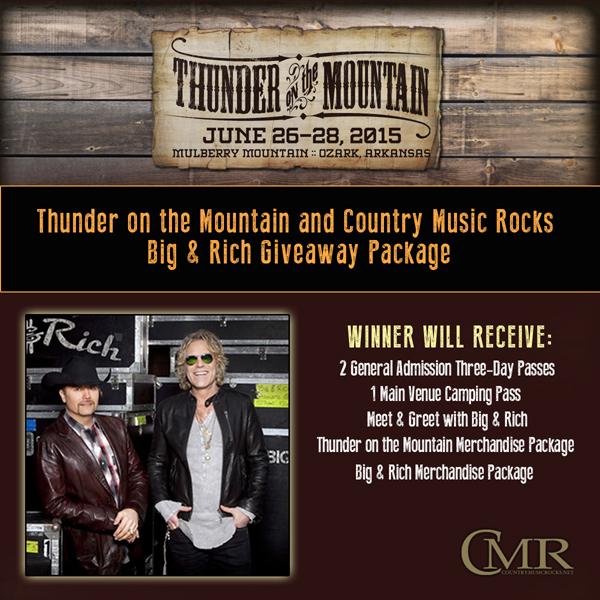 CMR Big & Rich Giveaway - CountryMusicRocks.net