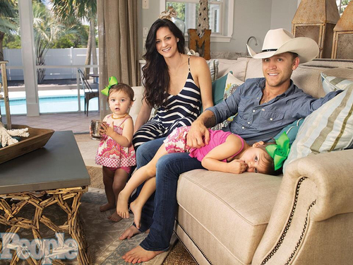 Justin Moore and Family