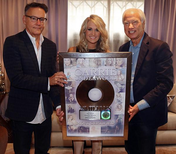 Carrie Underwood 28 Million RIAA Digital Single Program - CountryMusicRocks.net