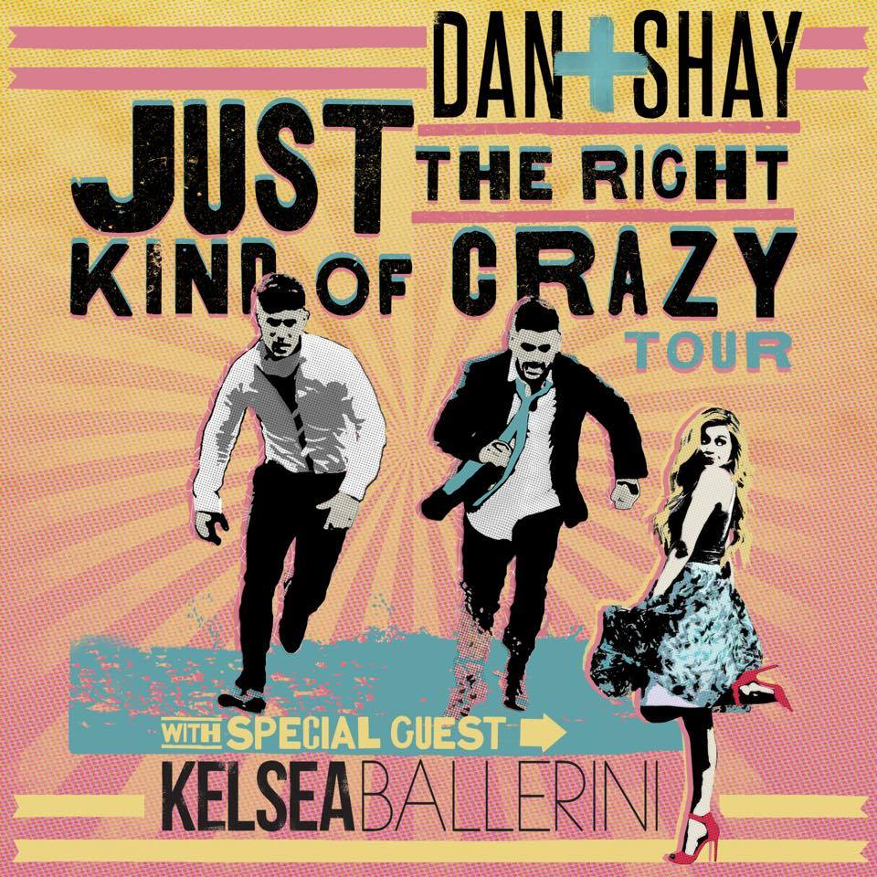 Dan + Shay Just The Right Kind of Crazy Tour - CountryMusicRocks.net