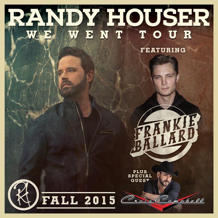 Randy Houser We Went Tour - CountryMusicRocks.net