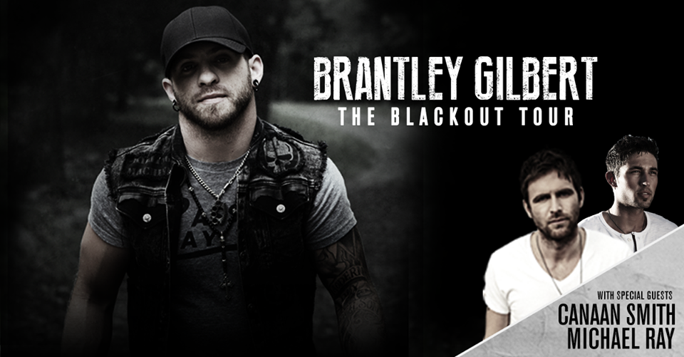 Brantley Gilbert The Blackout Tour - CountryMusicRocks.net