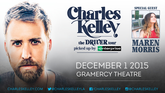 Charles Kelley The Gramercy Theater - CountryMusicRocks.net