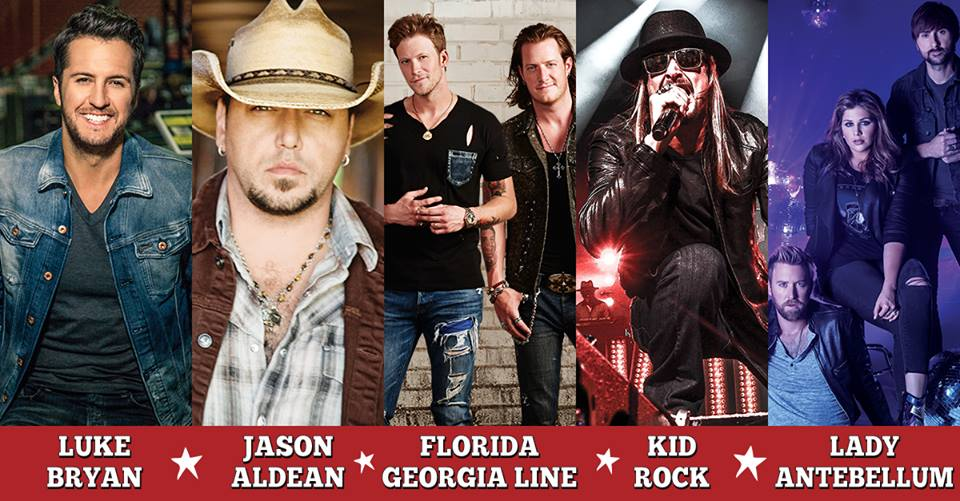Country 500 Lineup - CountryMusicRocks.net