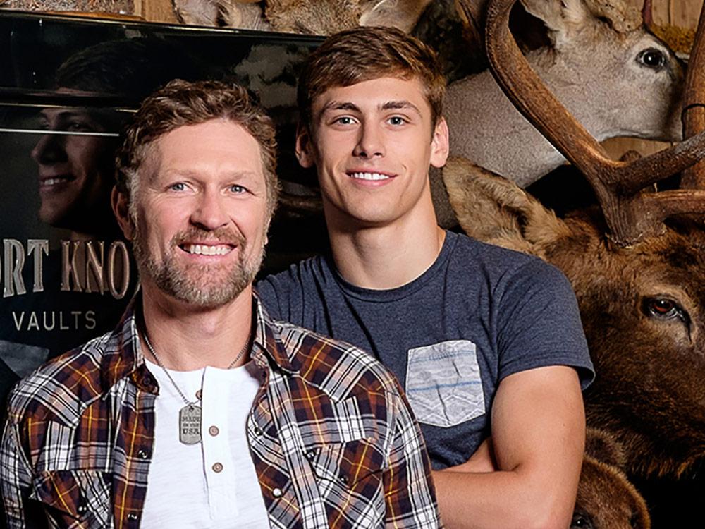 Craig Morgan and Son Jerry Greer