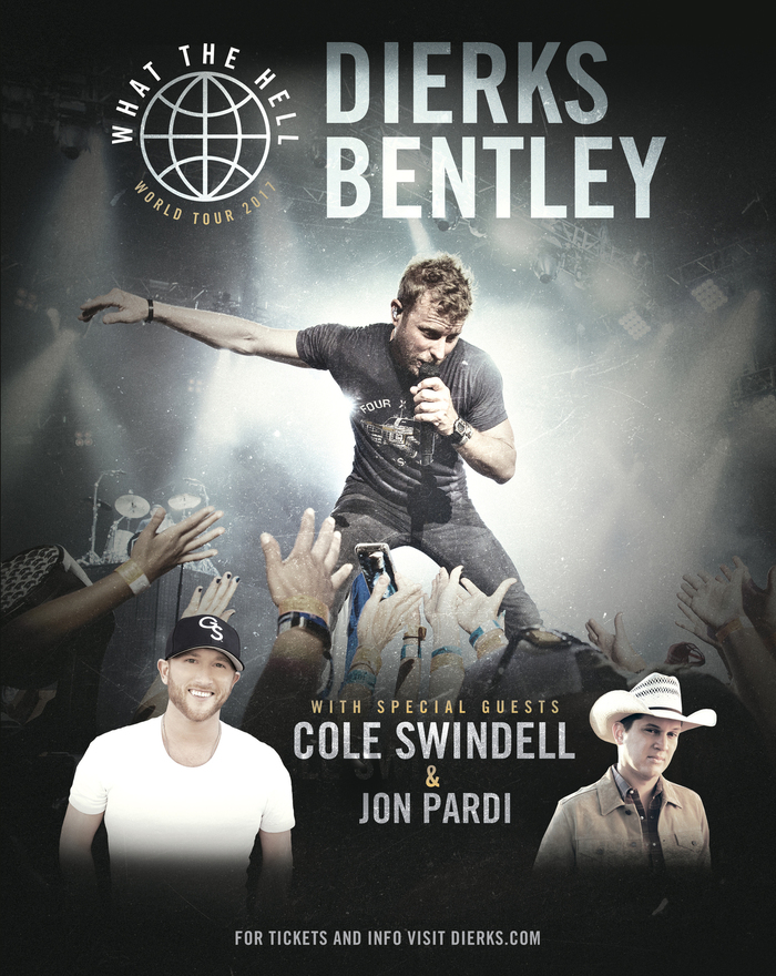 Dierks Bentley What The Hell Tour