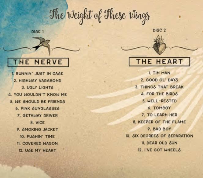 miranda-lambert-the-weight-of-these-wings-track-listing