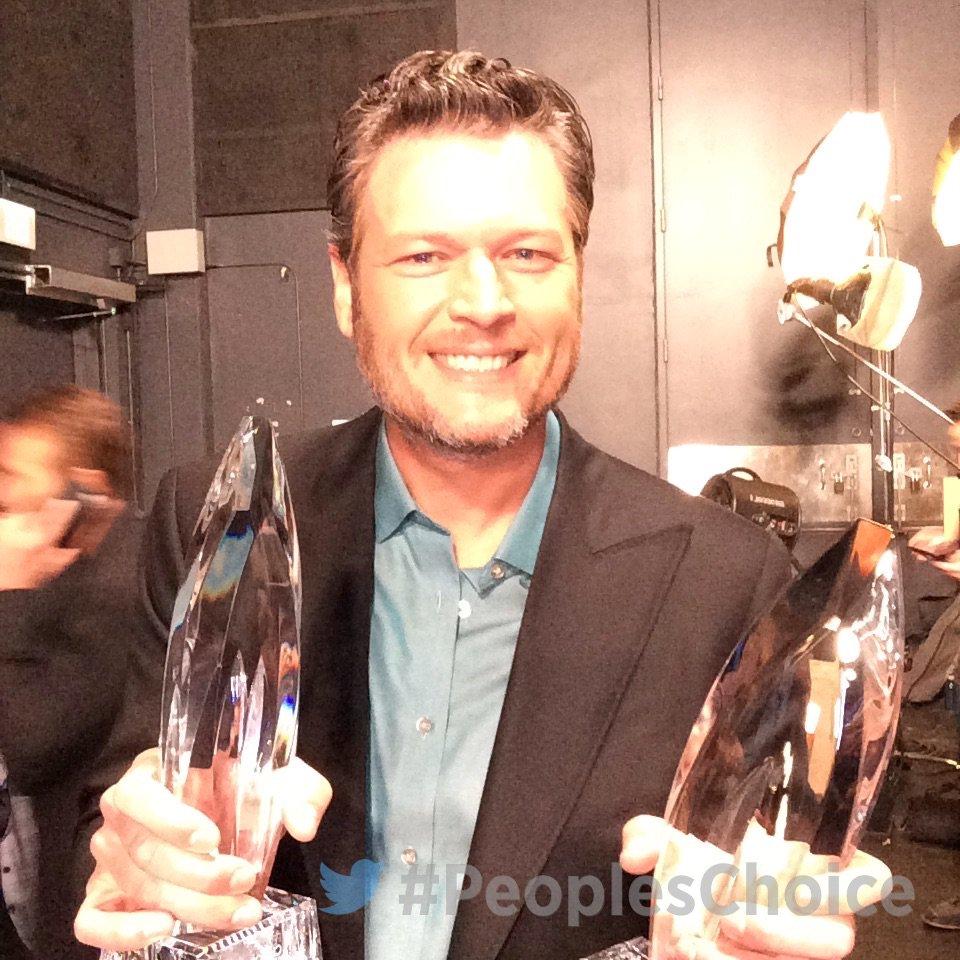 Blake Shelton People's Choice Awards