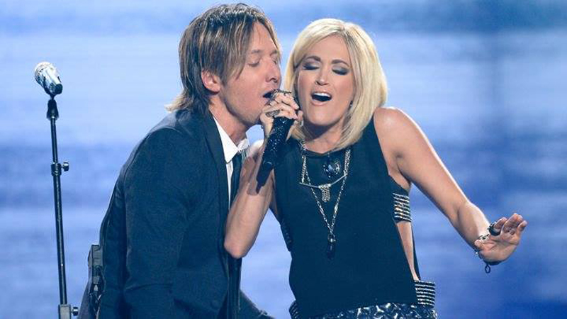 Carrie Underwood and Keith Urban
