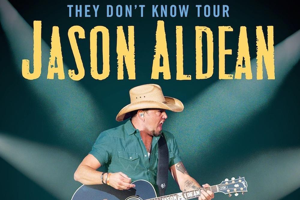 Jason Aldean They Don't Know Tour