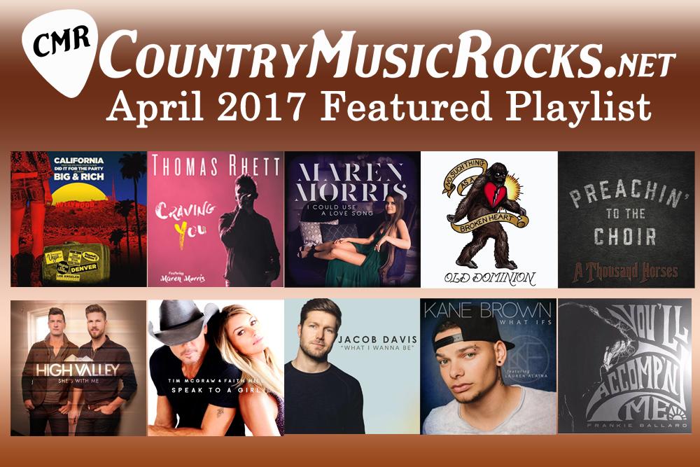 CMR Featured Playlist April