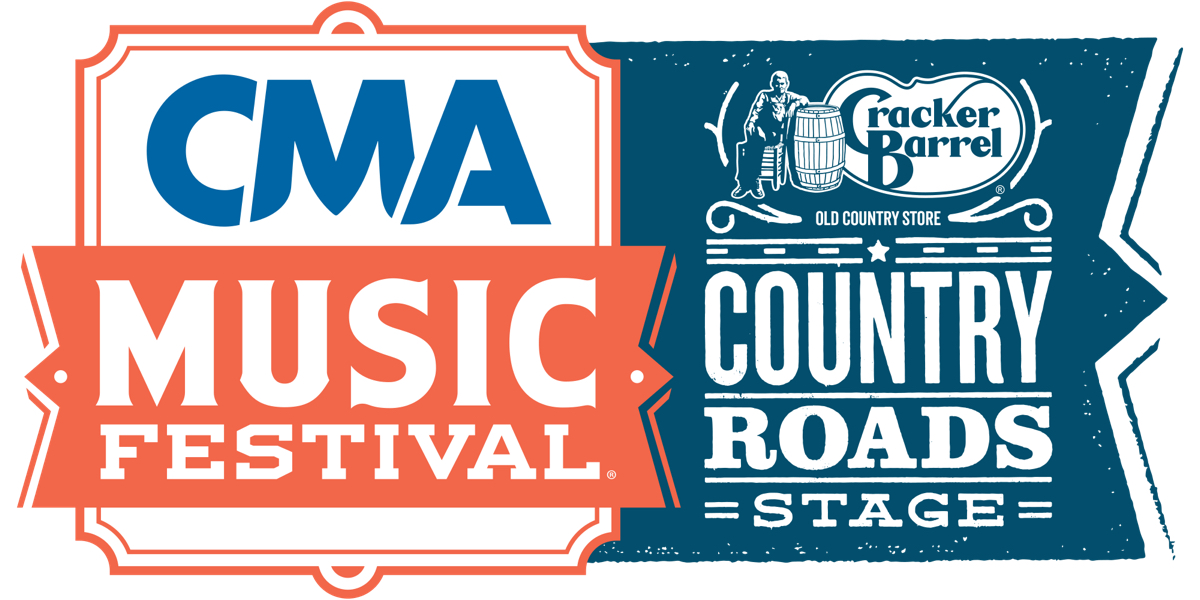 CMA Music Fest Cracker Barrel Country Roads Stage