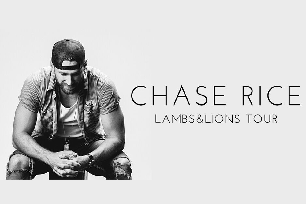 Chase Rice Lambs & Lions Tour