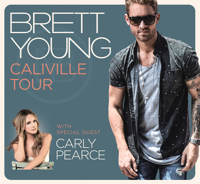 Brett Young Tour