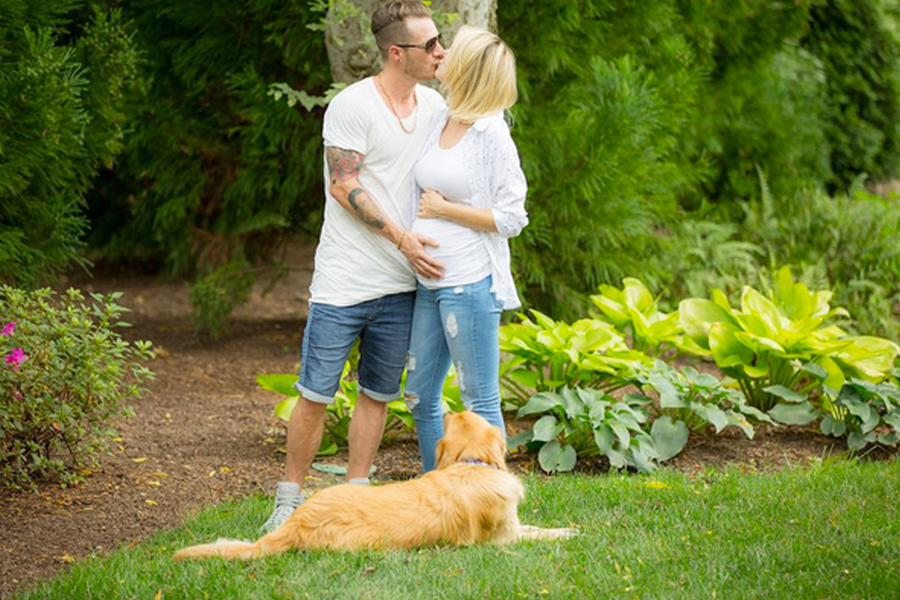 FGL Tyler and Hayley Hubbard Gender Reveal