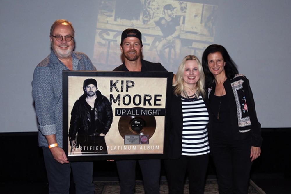Kip Moore RIAA Certification