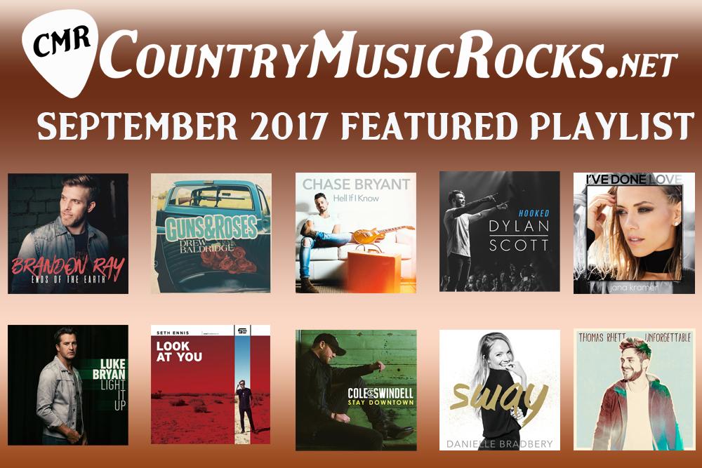 CMR Monthly Playlist September 2017