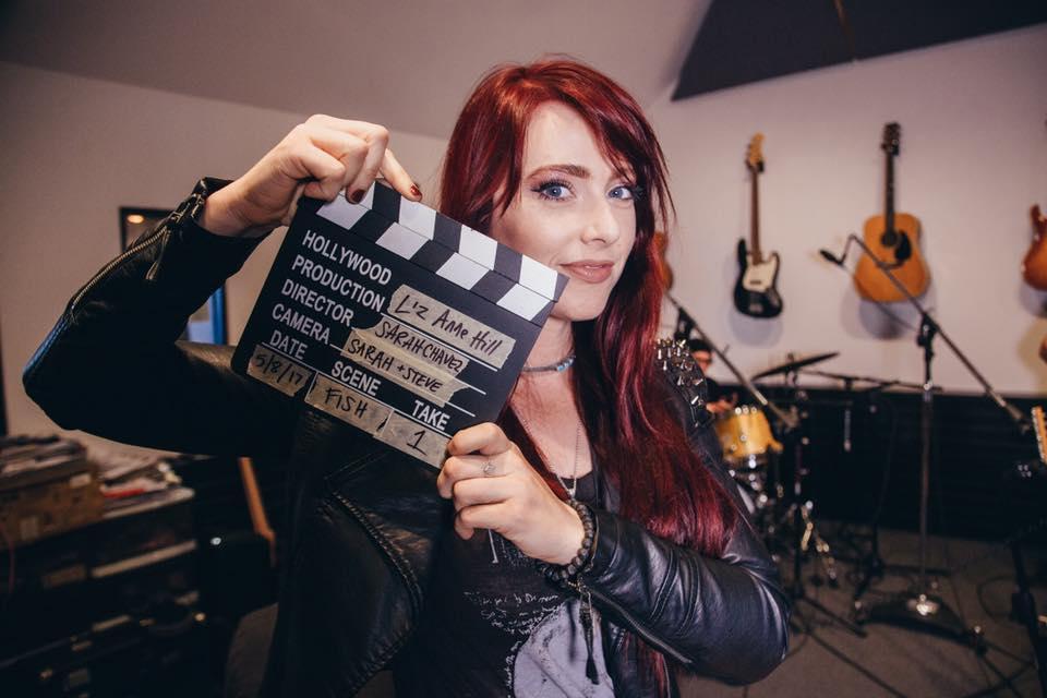 Liz Anne Hill Video Shoot