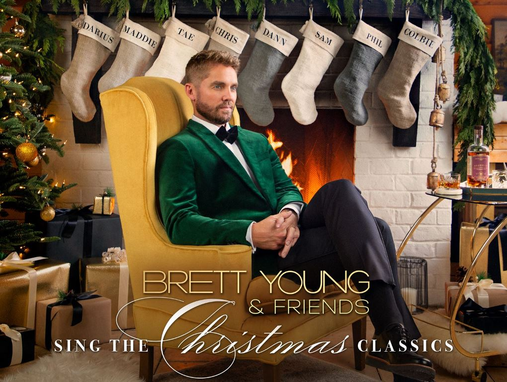 Brett Young To Release First Ever Christmas Album