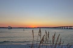 Destin Sunset Sailboat