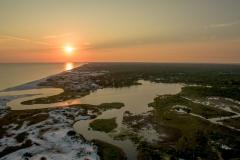 Western Lake Sunset