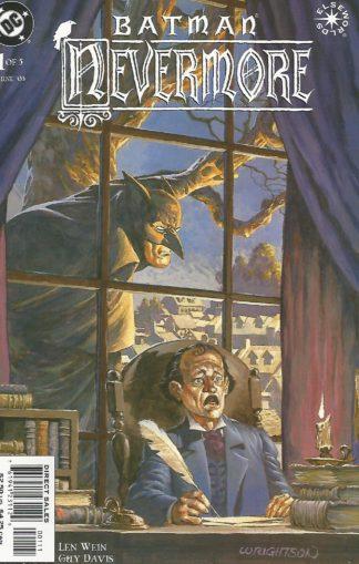 Batman Nevermore #001 Cover Image