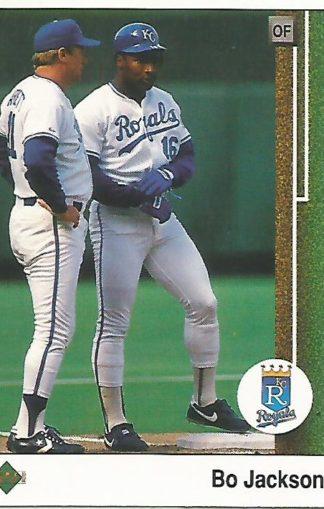1989 Upper Deck #221 Bo Jackson
