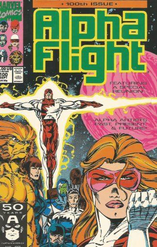 Alpha Flight #100