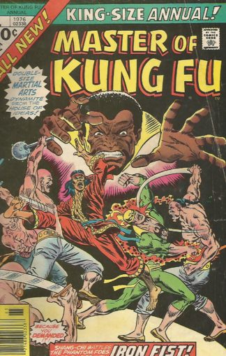 Master of Kung Fu Annual #01